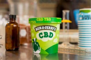 Global brands such as Ben and Jerry's plans introduce CBD-infused ice cream.